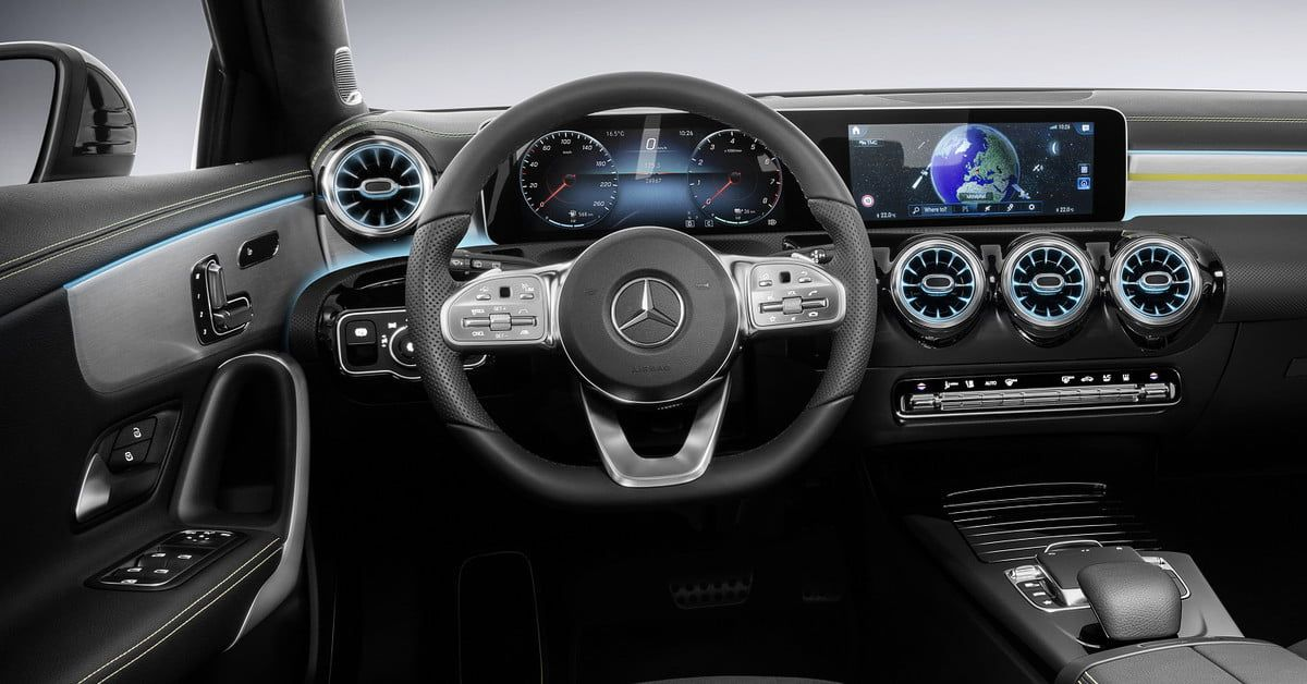 2019 Mercedes Benz A Class Sedan News Specs Performance Pics Digital Trends Mercedes A Class Mercedes A Class Interior Benz A Class