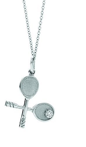 Tiffany Necklaces Jewelry Silver Battledore Pendant Necklace This Tiffany Jewelry Product Features: Category: Tiffany & Co Necklaces Material: Sterling Silver Manufacturer: Tiffany And Co #tiffany co #Jewelry