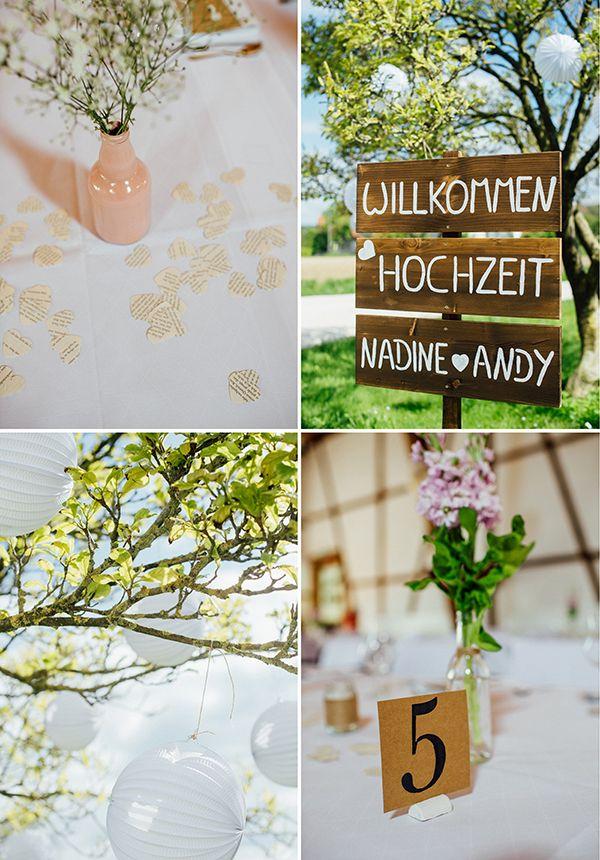 Nadine Und Andreas Details Hochzeit Deko Hochzeit Wald