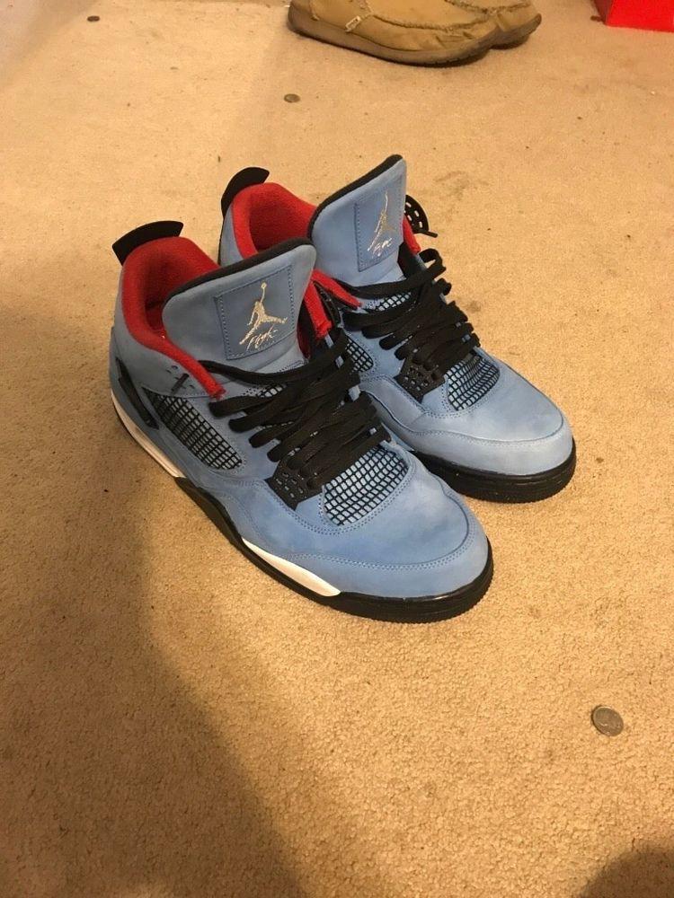 7e6b9b8c2c5966 Air jordan 4 travis scott cactus jack Size 14  fashion  clothing  shoes   accessories  mensshoes  athleticshoes (ebay link)