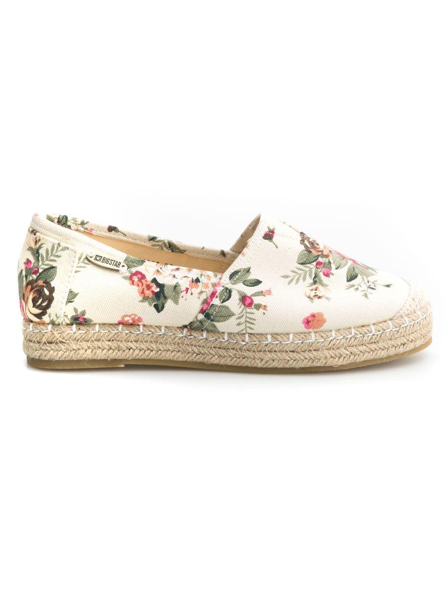 Espadryle Damskie W Kwiaty U274318 871 Buty Dodatki Kobieta Slip On Sneaker Shoes Sneakers