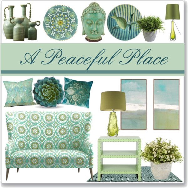 """Home Decor Places: """"A Peaceful Place"""" By Stephlo-1 On Polyvore"""