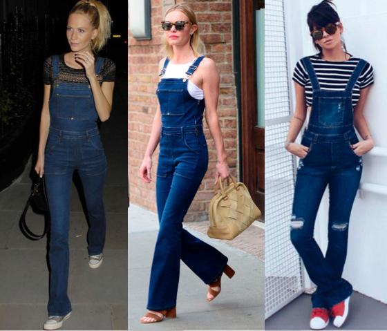 6bbf22bdc0882f Jardineira Jeans Flare | ropa em 2019 | Macacão jeans feminino ...