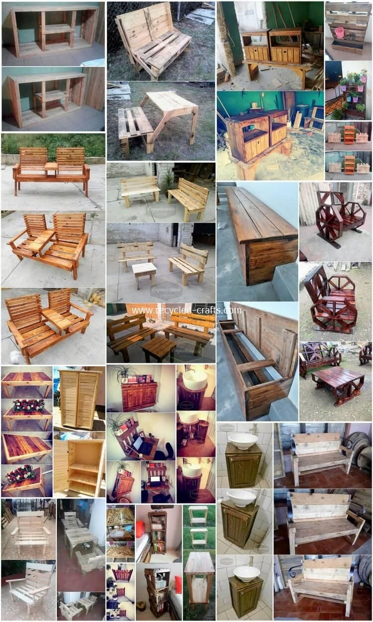 Amazing Things Made With Old Pallets Old Pallets Recycled Pallets