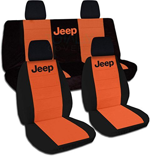 Amazon Com Jeep Wrangler Jk 2011 To 2016 Two Tone Seat Covers