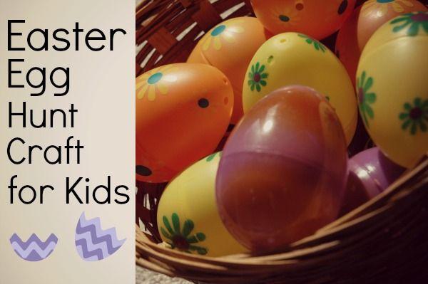 easter egg hunt craft for kids logo diy pinterest easter
