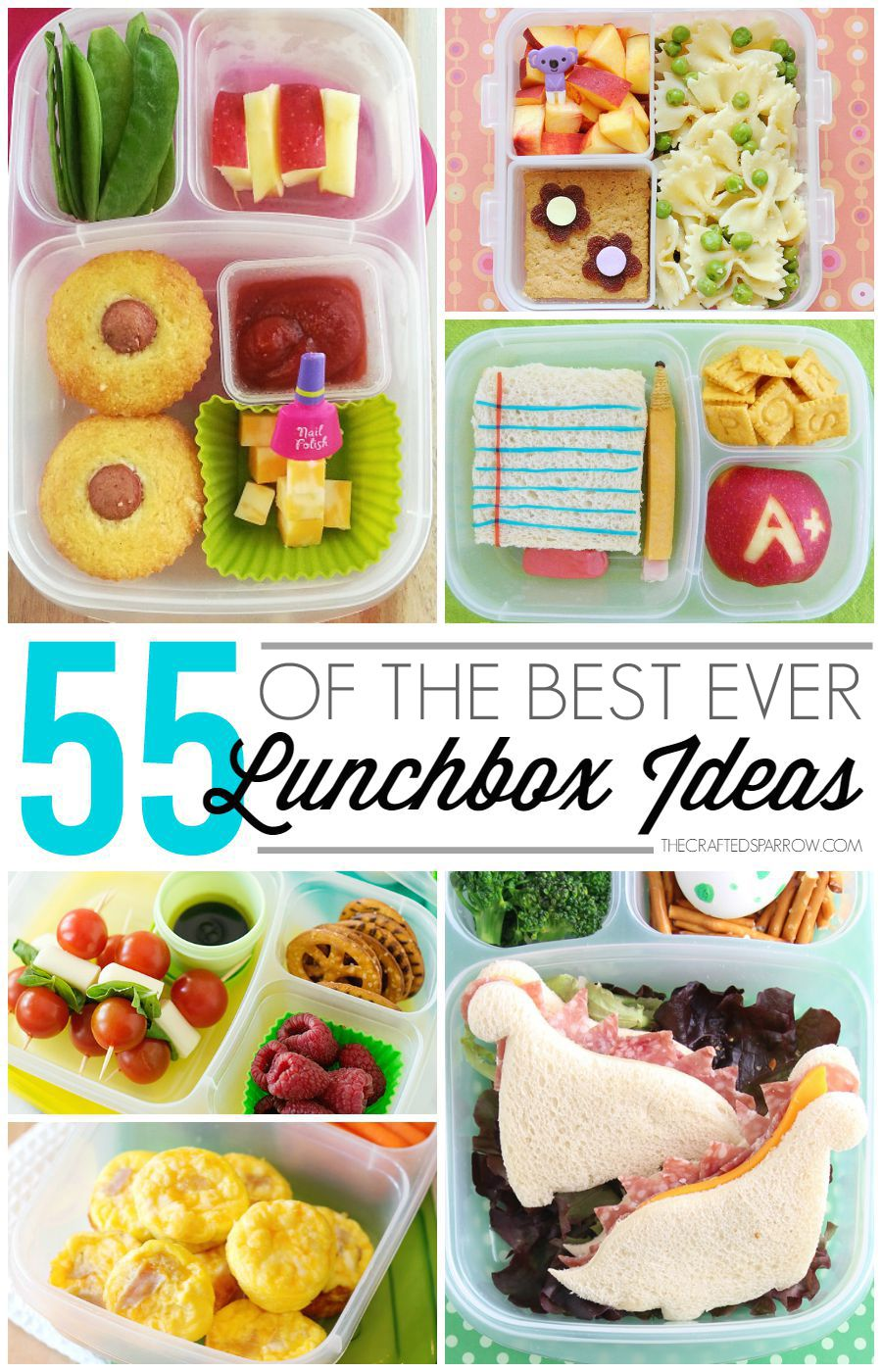 cfe21cb39958 55 of The Best Ever Lunchbox Ideas   Kids.   Kids packed lunch, Kids ...