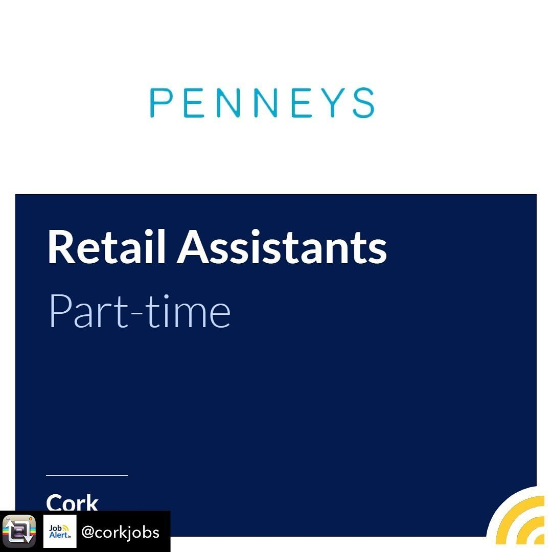 Penneys Are Now Hiring Part Time Retail Assistants At Wilton