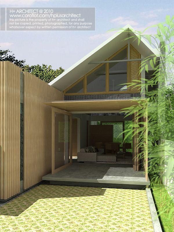 Competition Rumah Mungil Hijau By Yudho Patrianto At Coroflot Com