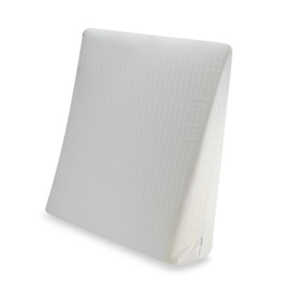 Bed Wedge Pillow And Pillowcase Bedbathandbeyond Com