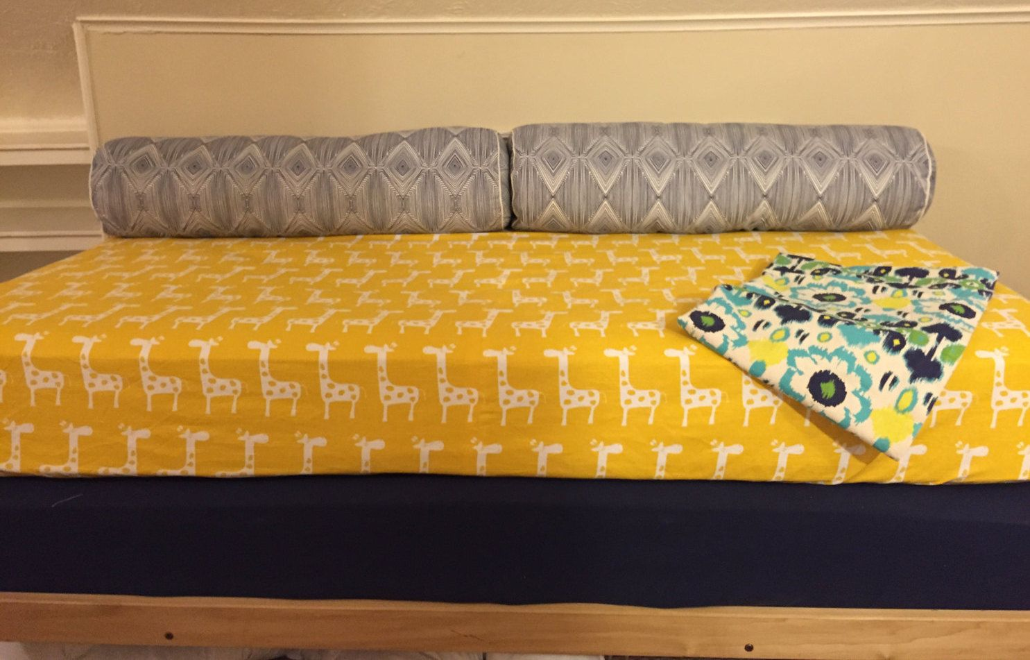 Daybed fitted mattress cover twin or twin xl pictured in