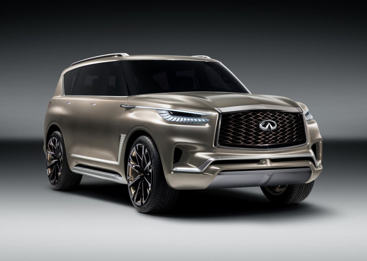 Infiniti Teases Its Flagship Suv Concept The Qx80 Monograph New