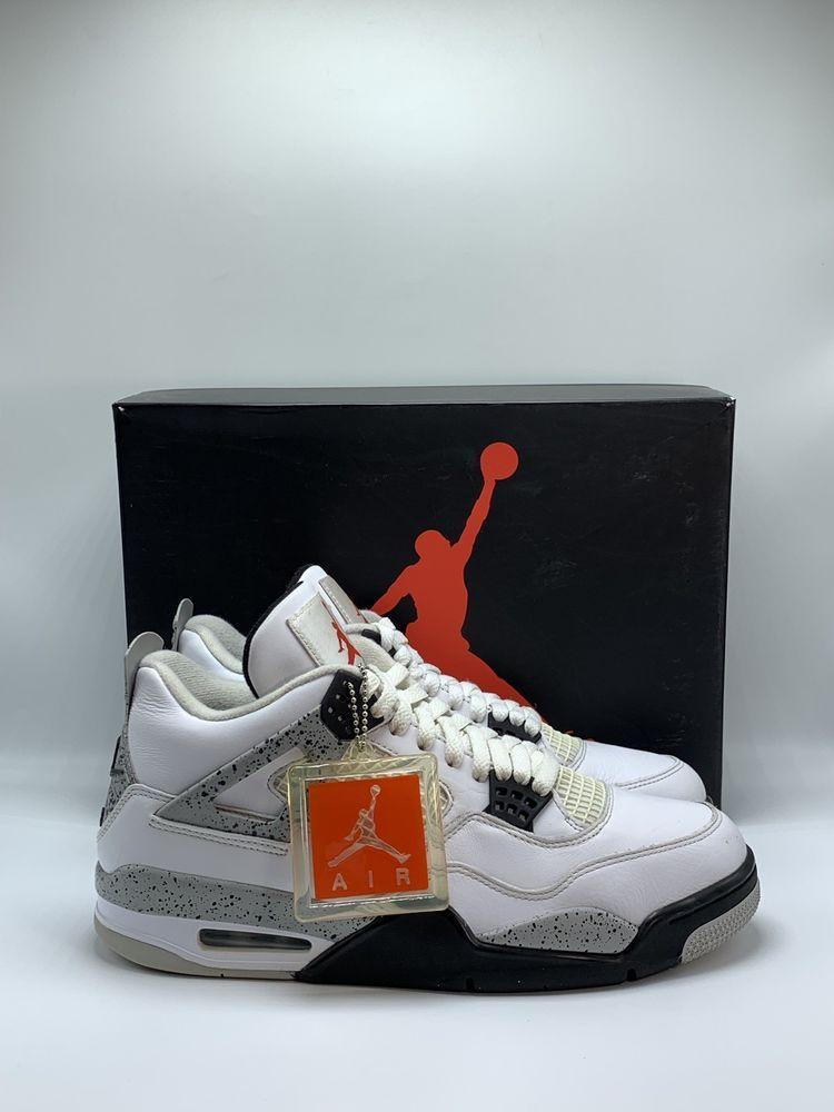 "the best attitude e6557 ce254 Nike Air Jordan 4 IV Retro OG ""White Cement"" 840606-192 Size 10 2016 W   Receipt"