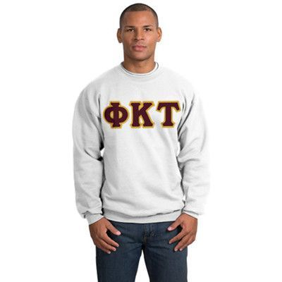 7b7c099a Fraternity Printed Greek Outline Font T-Shirt - Gildan 5000 - CAD | New  Greek Merchandise!!! | Greek clothing, Custom greek apparel, Fraternity  shirts