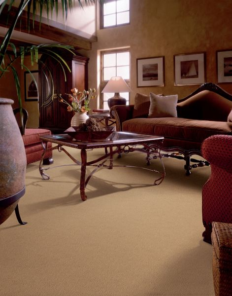 Traditional Living Room With Faux Walls Light Colored