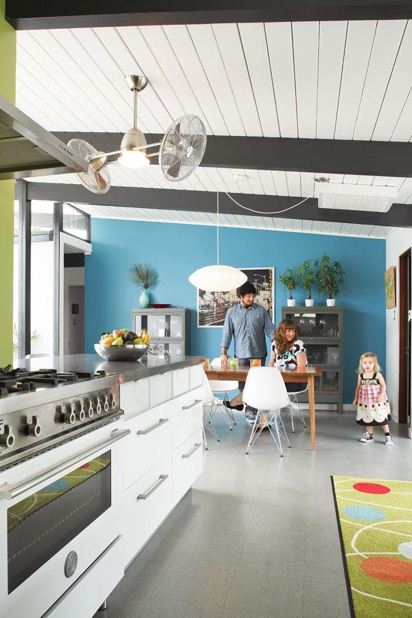 Eichler kitchen. | Eichler. | Pinterest | Kitchens, Mid ...