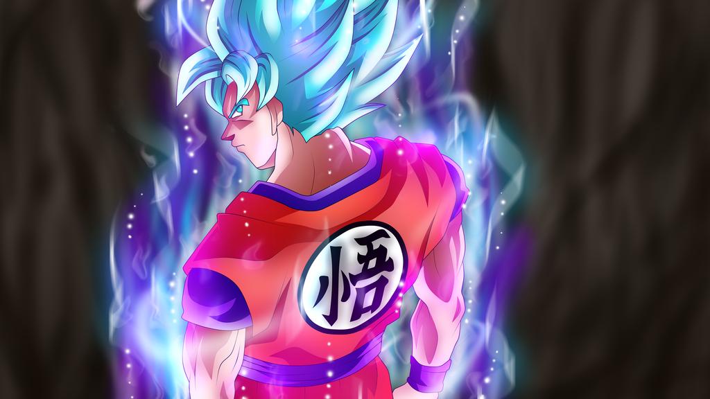 Super Saiyan Blue Ultra Instinct By Rmehedi Dragon Ball Super Manga Anime Dragon Ball Super Dragon Ball Super Goku
