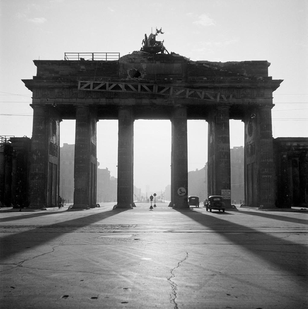 Westberlin Brandenburg Gate Berlin 1946 Photo By Werner