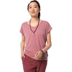 Photo of Jack Wolfskin Funktions-T-Shirt Frauen Travel T-Shirt Women M violett Jack Wolfskin