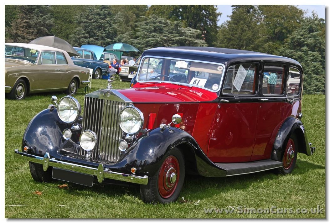1939 Rolls Royce Wraith With Hooper Limousine Coachwork Avto