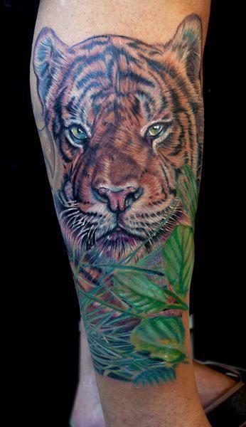 Beautiful Tiger Tattoo Beautiful Tiger Tattoo