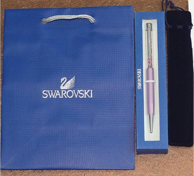 Volle paket swarovski kristall kugelschreiber mit marke geschenk ...