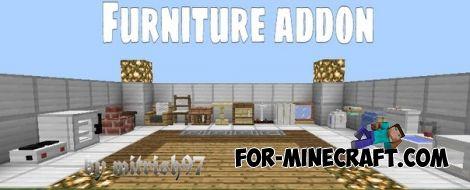 Mrcrayfishs Furniture Mod For Minecraft Pocket Edition 0 11 0 Mod