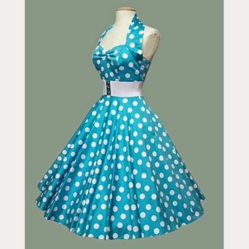 fe746c7b7865 vestidos dos anos 50 e 60 ... | vestidos em 2019 | Vestidos anos 60, R…