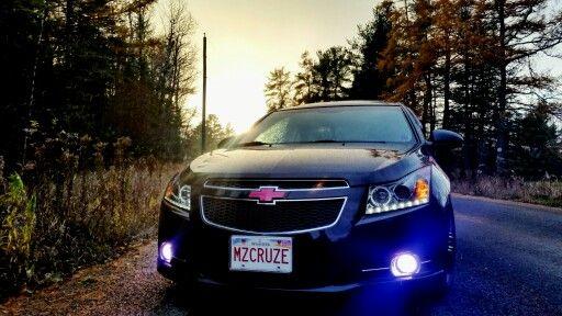 Mzcruze Spyder Head Lights 30000k Hid Fog Lights With Pink Tints Chevy Cruze Hid Fog Lights Cruze