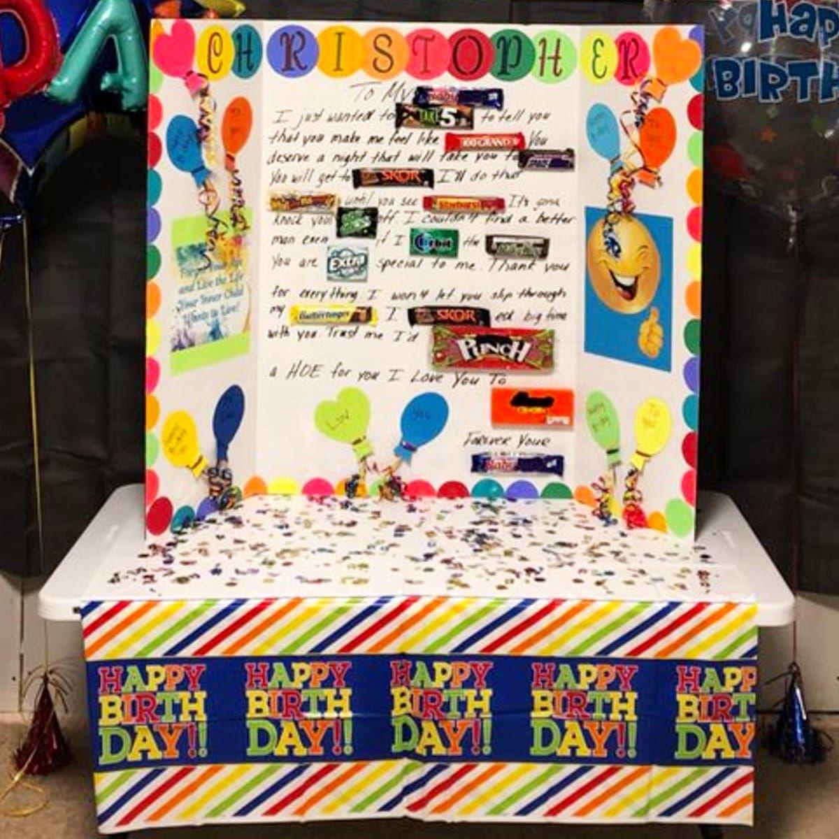 Cute & Easy DIY Birthday Candy Card Ideas