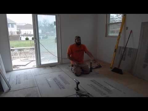 Installing HardieBacker Cement Board Series: Floor Install + ...