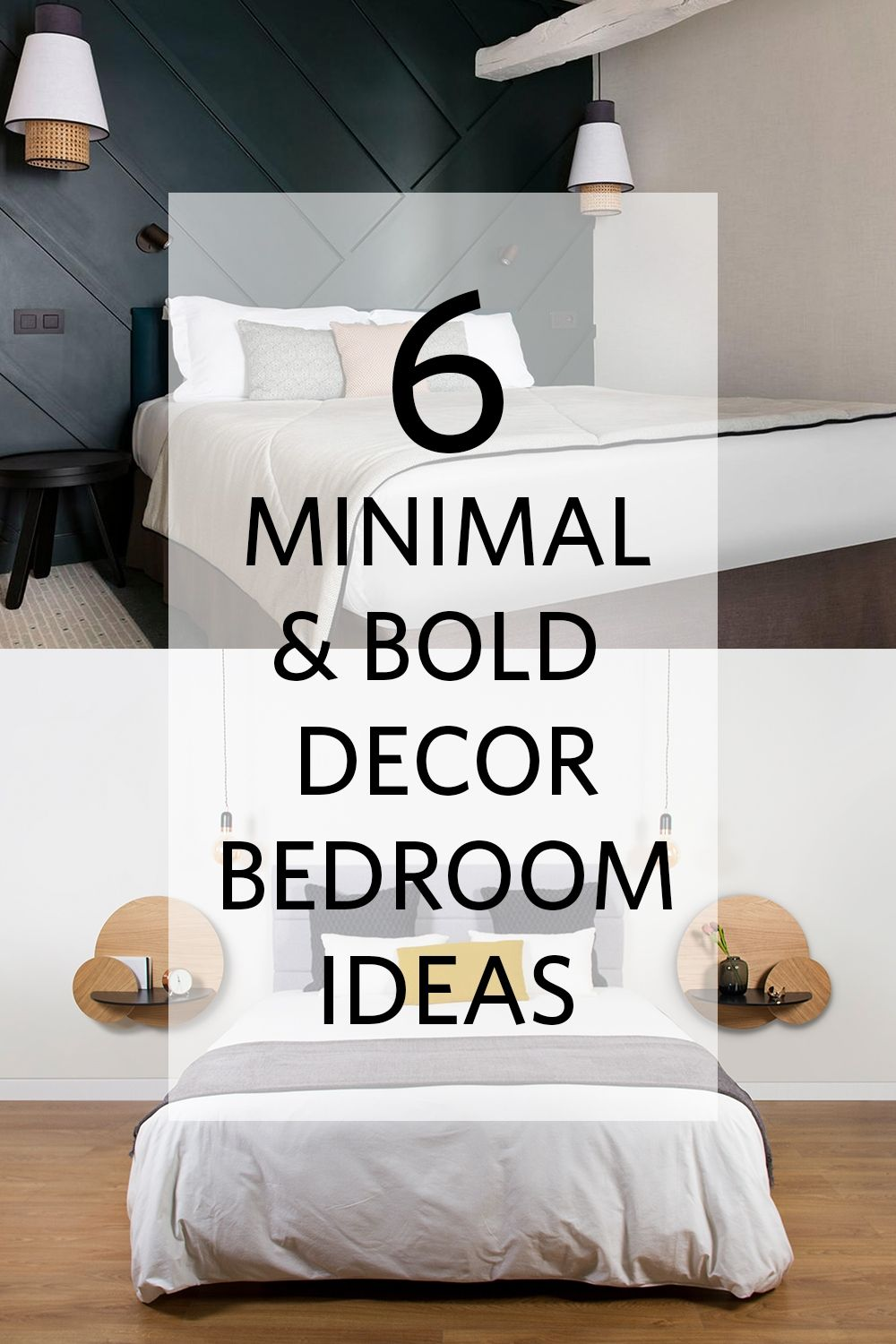 Spring is almost here! Time to re-decorate your loved bedroom :) #spring #decoration #minimaldecor #moderndecor #woodenfurniture