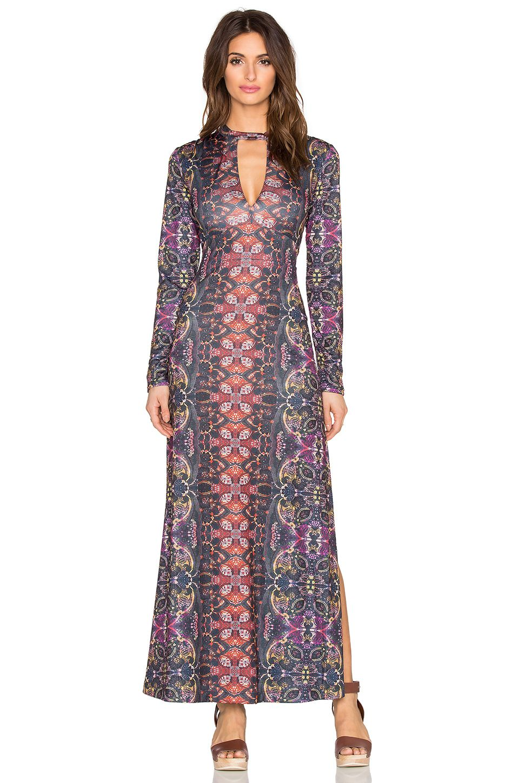 baa6a8b199fab FREE PEOPLE Cabaret Long Sleeve Maxi Dress. #freepeople #cloth #dress