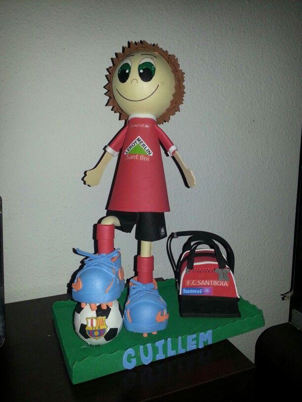 Chico futbolista