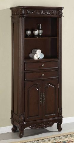 Bathroom Linen Cabinets | Bathroom Linen Tower | Bath Storage Furniture