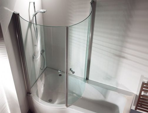 Curved Bath Tub Home Shower Baths Curved Return
