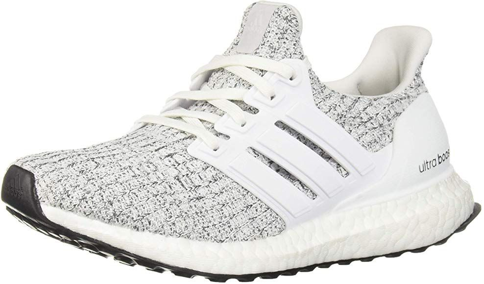 07ff84f96b9b9 Amazon.com | adidas Women's Ultraboost, white/white/neon-dyed, 10 M ...