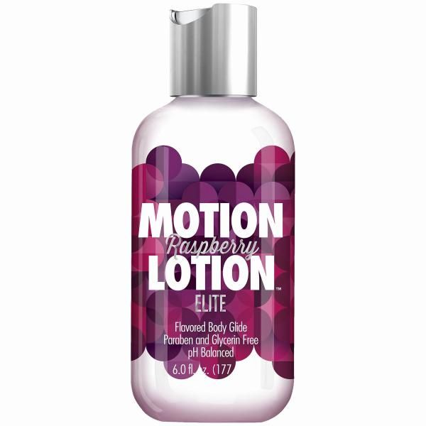 Motion Lotion Elite Raspberry 6oz - Motion Lotion Elite Raspberry 6 fluid  ounces. Playtime has never been so tempting; satisfy your erotic sweet to.