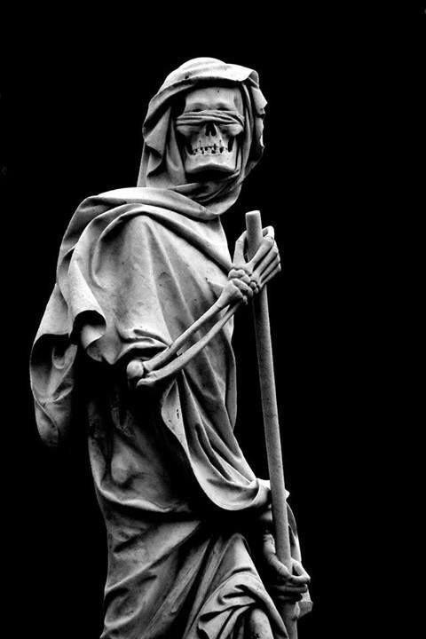 41 Strange on in 2020 | Cemetery art, Reaper statue ...