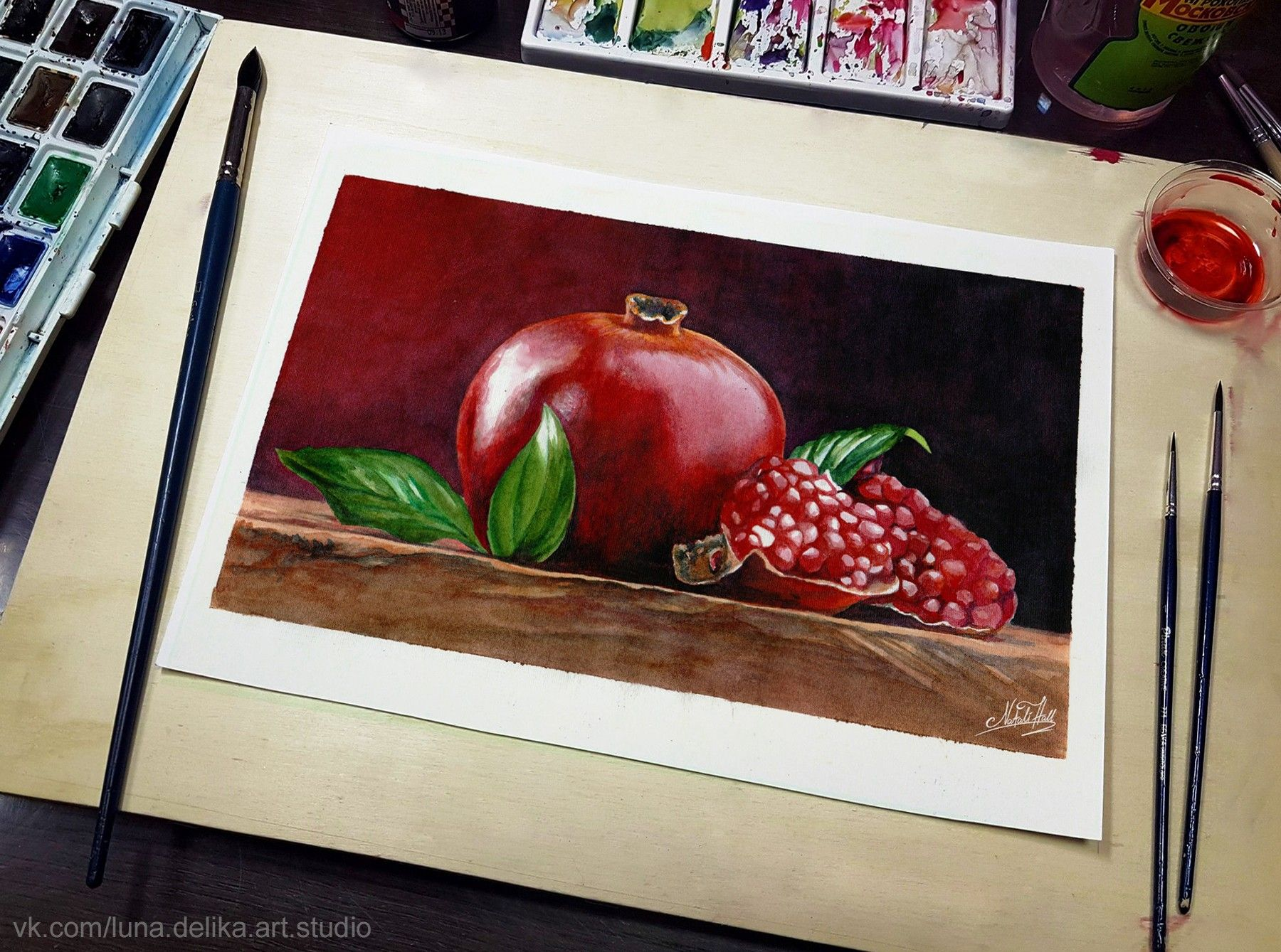 Картина художника Natali Hall — REKILL живи творчеством