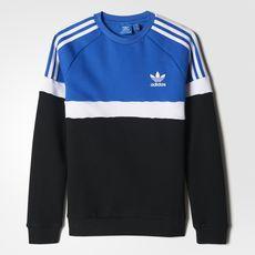 adidas colorblock sweater