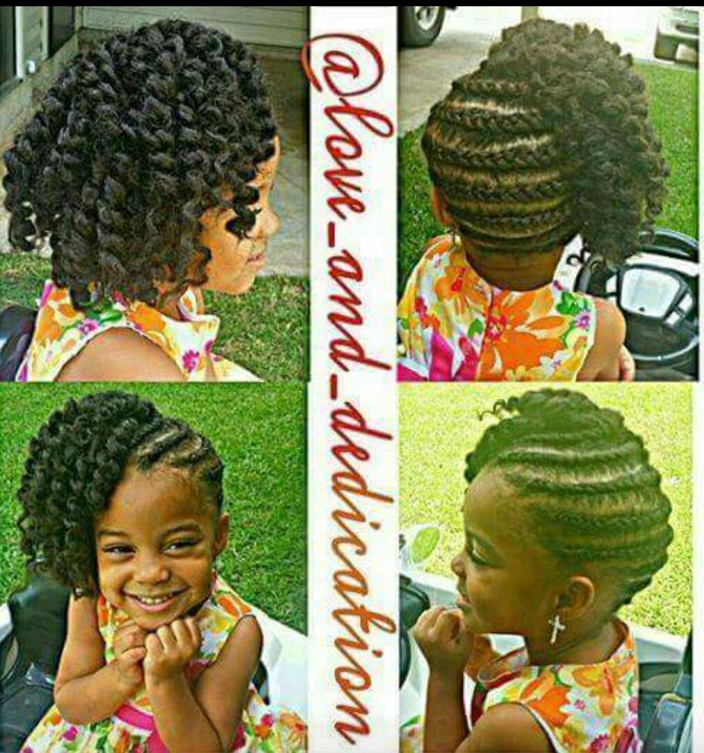 Great summer do for little ladies you can stretch this style out a