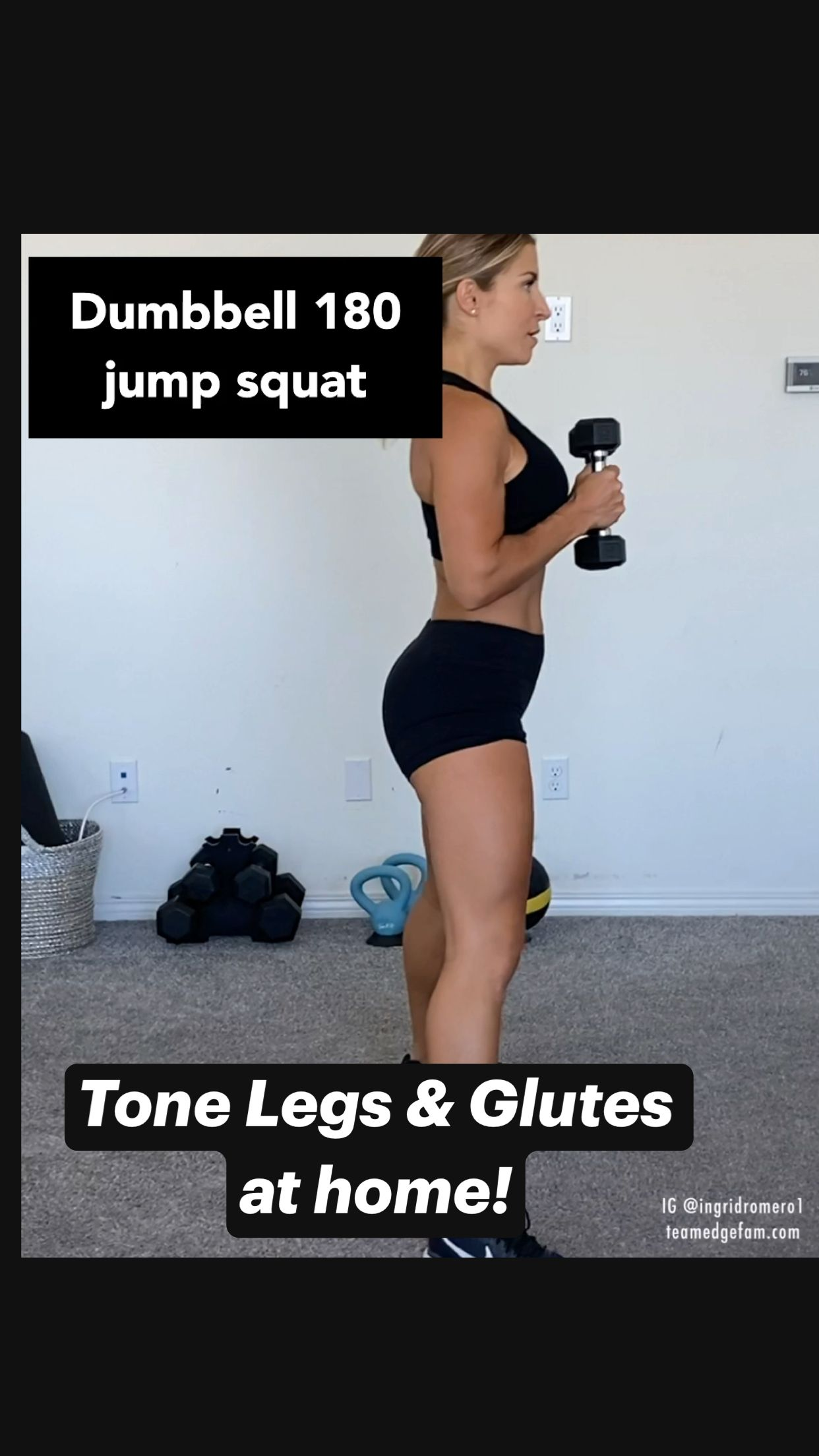 Tone Legs & Glutes at home!