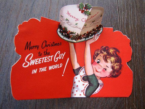 cute vintage Christmas tag!