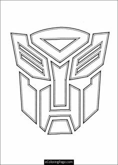 transformers printable coloring pages | ... transformers logo ... - Optimus Prime Truck Coloring Page