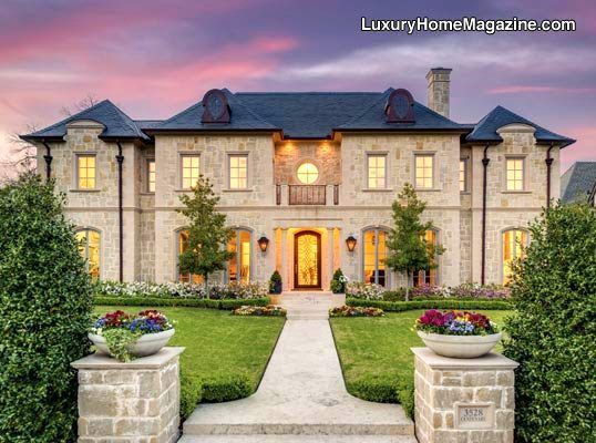 Dallas Luxury Homes And Real Estate House And Home Magazine Mansions Luxury Homes