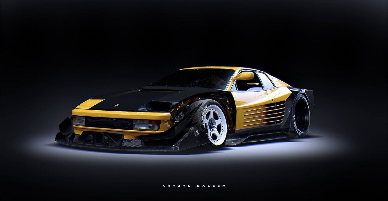 Testarossa By The Kyza On Deviantart With Images Dream Cars