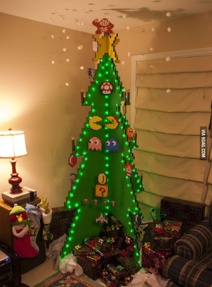 8 Bit Xmas Tree Nord