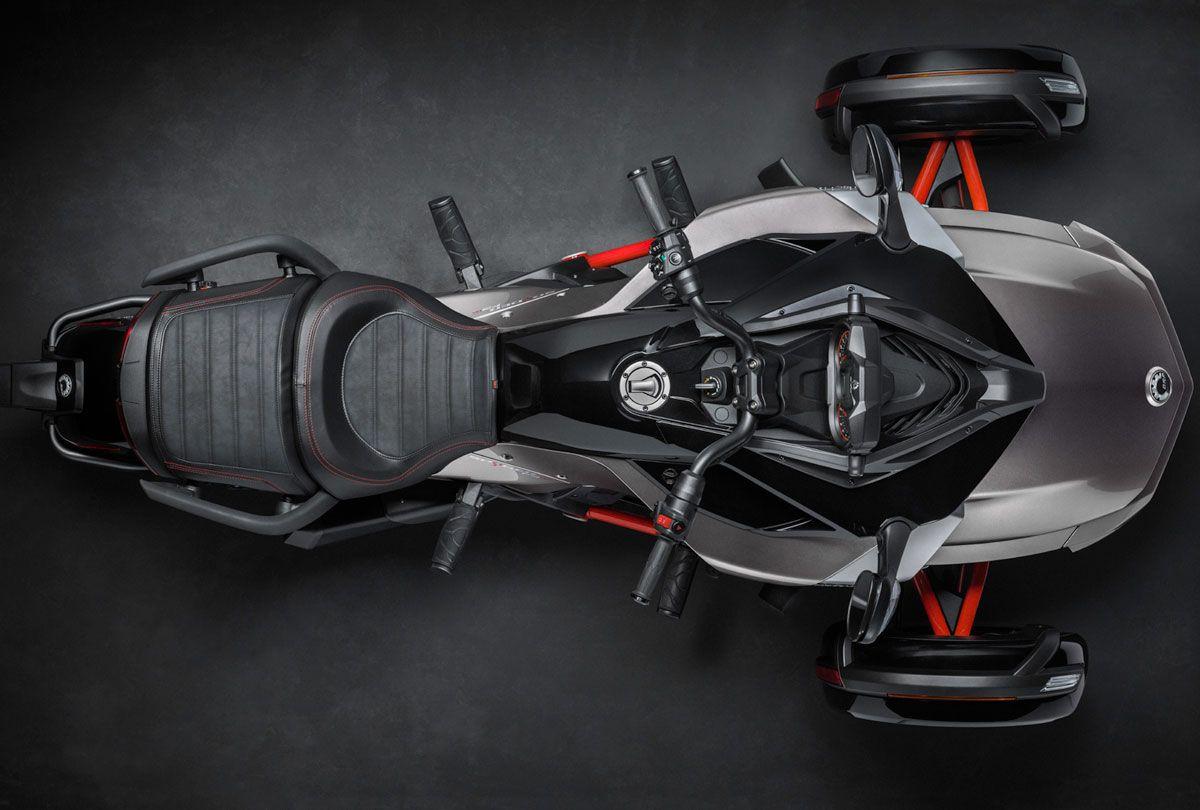 Huge Moto Mono Racr motorcycle concept | wordlessTech