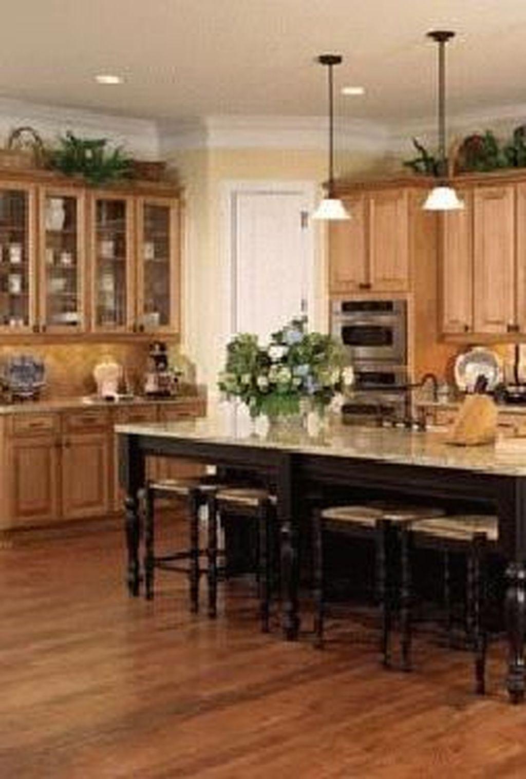 40 Popular Wood Kitchen Floor Design Ideas On A Budget To ...
